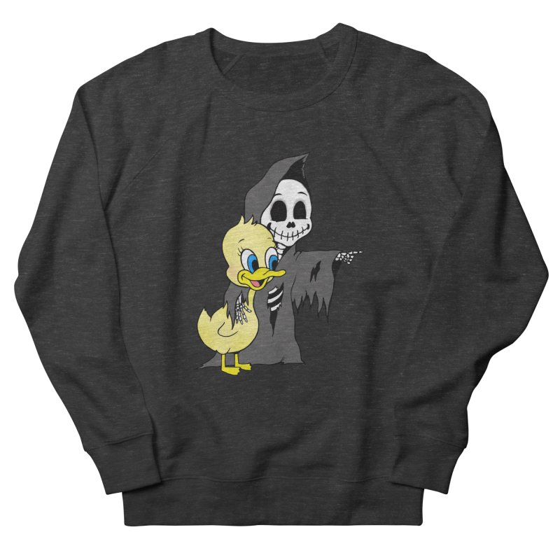 cute death Men's Sweatshirt by Jim Tozzi