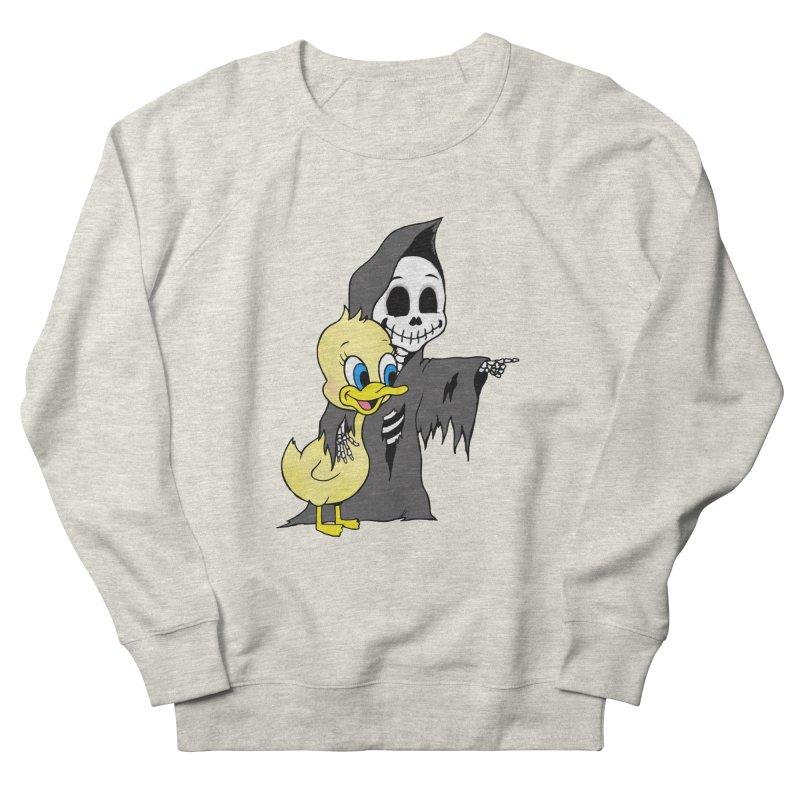 cute death Men's Sweatshirt by Jim Tozzi