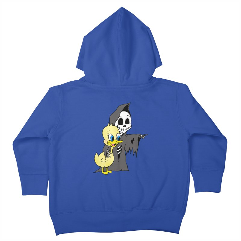 cute death Kids Toddler Zip-Up Hoody by Jim Tozzi