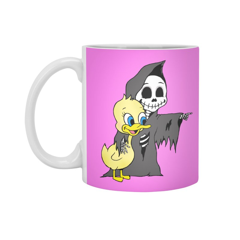 cute death Accessories Mug by Jim Tozzi