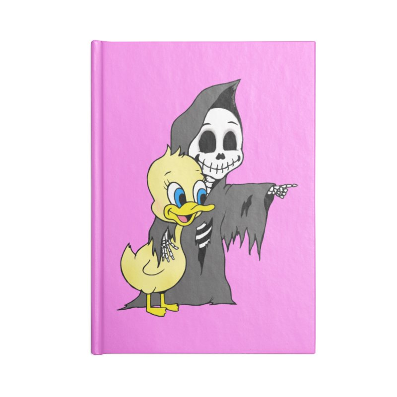 cute death Accessories Notebook by Jim Tozzi