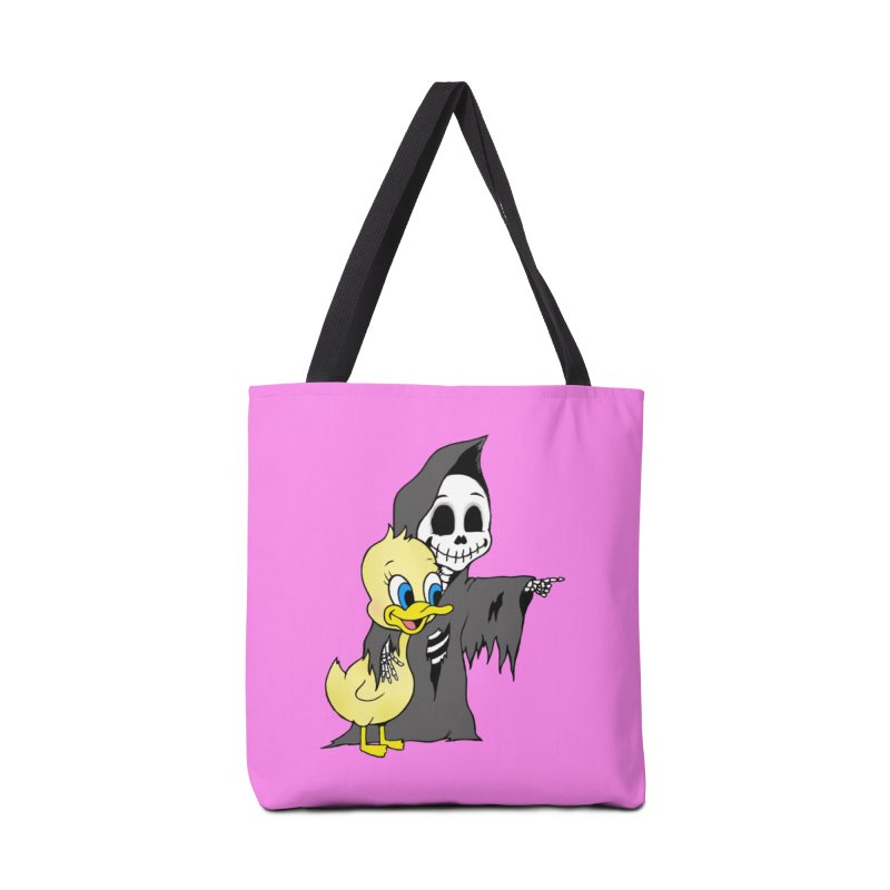 cute death Accessories Bag by Jim Tozzi