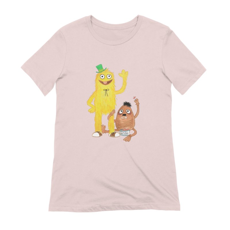 Chauncey and HIM Women's Extra Soft T-Shirt by Jim Tozzi