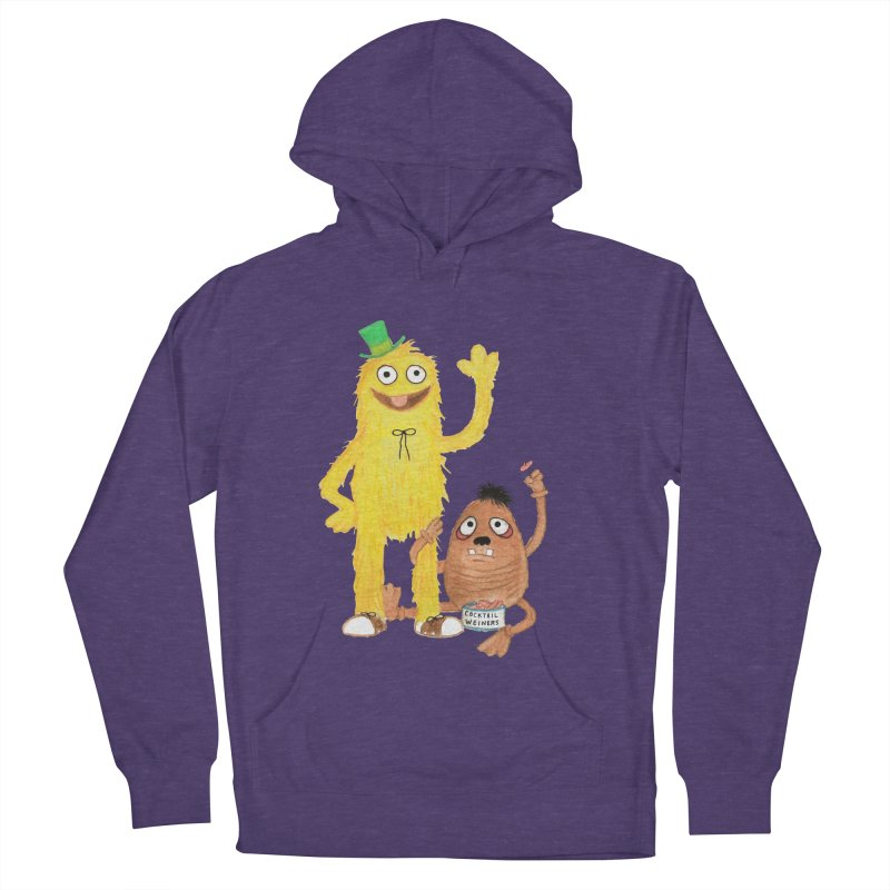 Chauncey and HIM Women's Pullover Hoody by Jim Tozzi