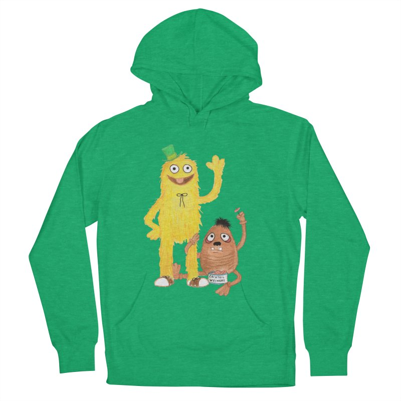 Chauncey and HIM Men's Pullover Hoody by Jim Tozzi