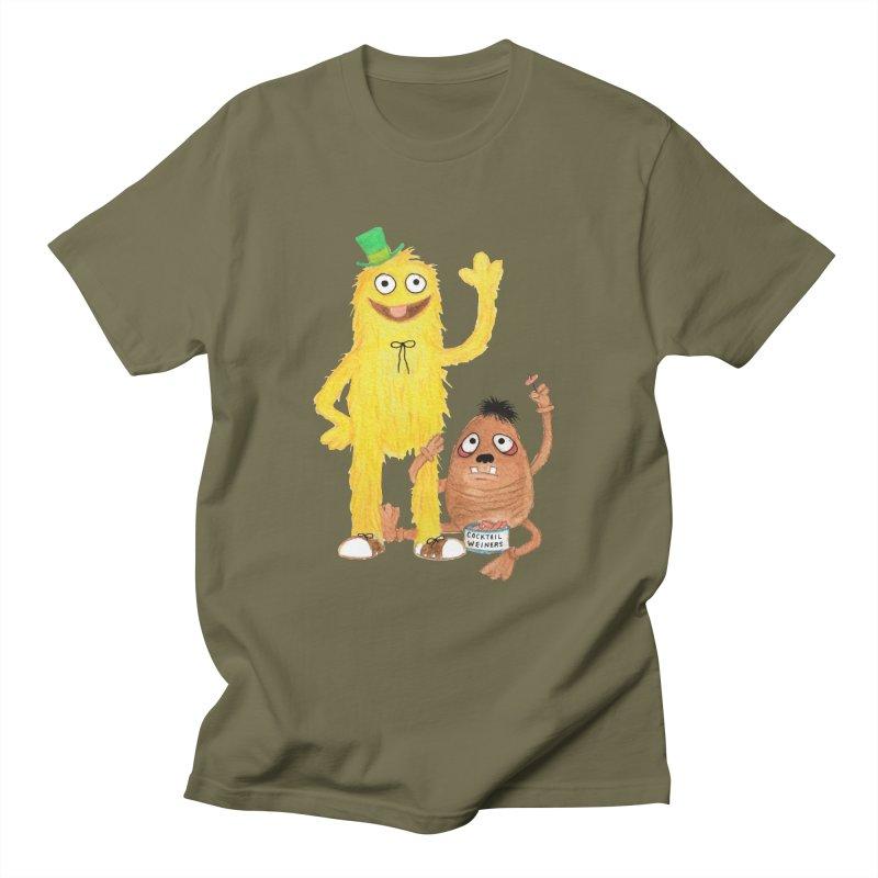 Chauncey and HIM Men's T-shirt by Jim Tozzi