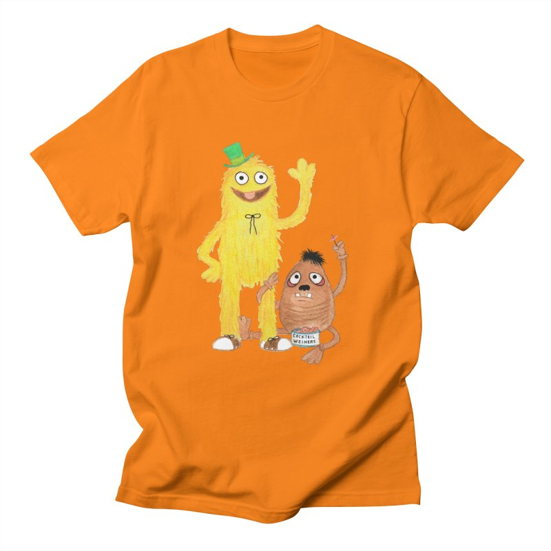Chauncey and HIM Men's T-shirt by Jim Tozzi