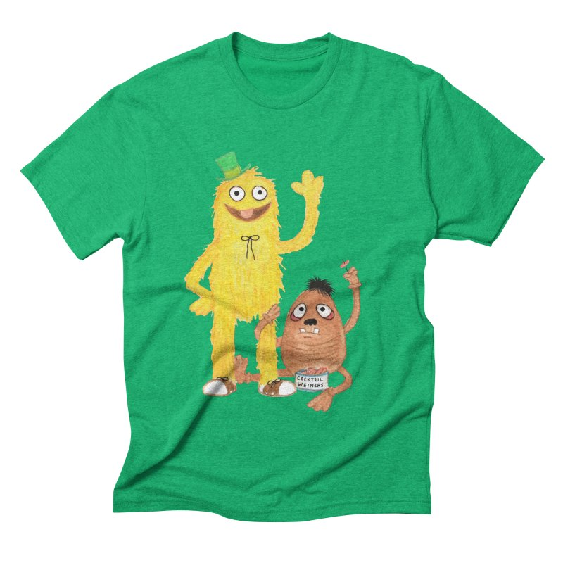 Chauncey and HIM Men's Triblend T-shirt by Jim Tozzi