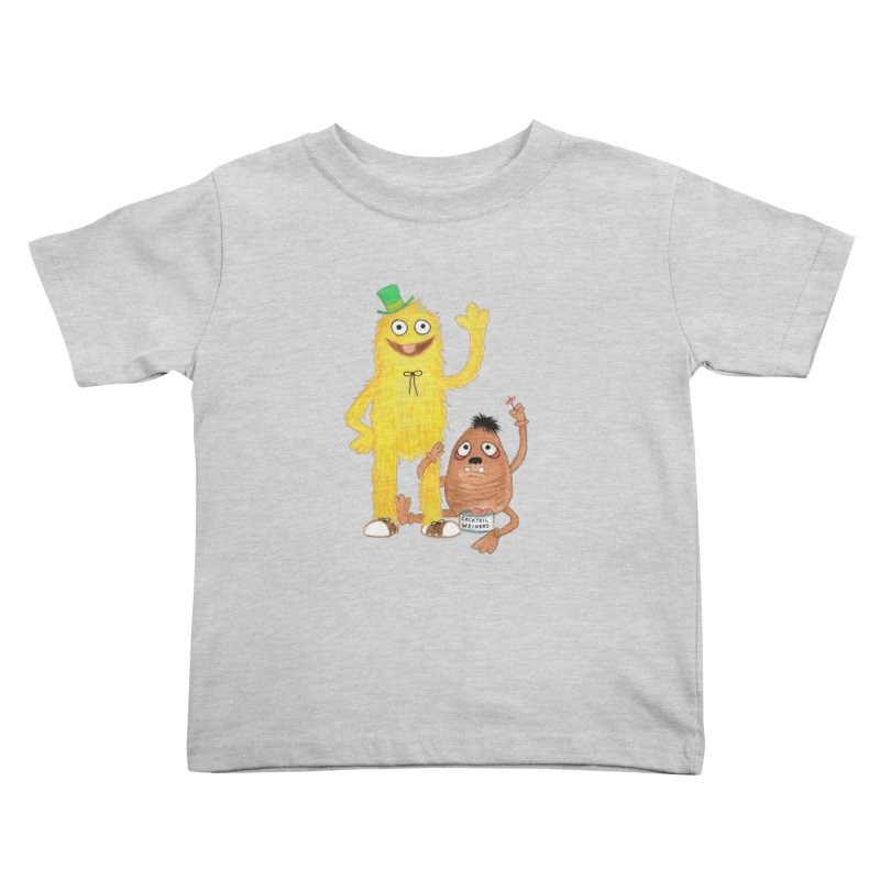 Chauncey and HIM Kids Toddler T-Shirt by Jim Tozzi