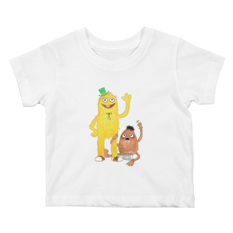 Chauncey and HIM Kids Baby T-Shirt by Jim Tozzi