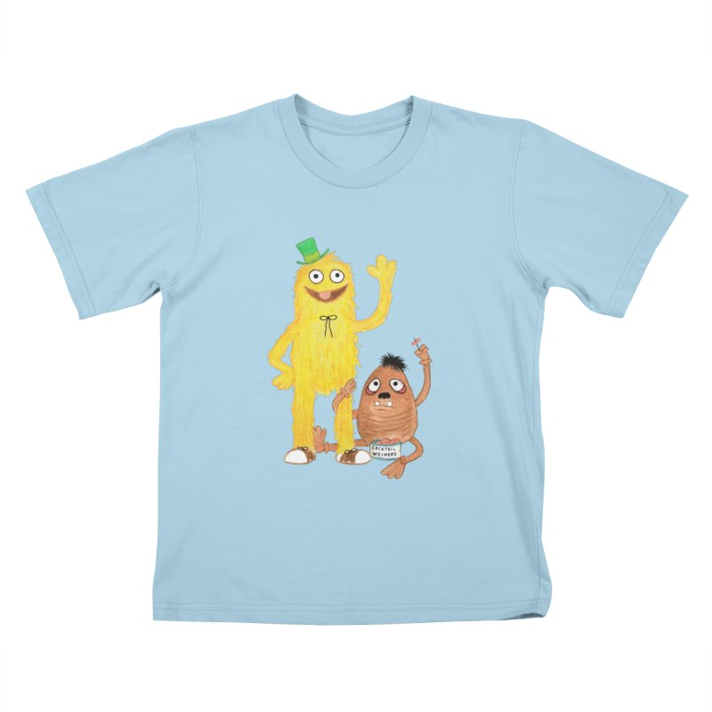 Chauncey and HIM Kids T-shirt by Jim Tozzi