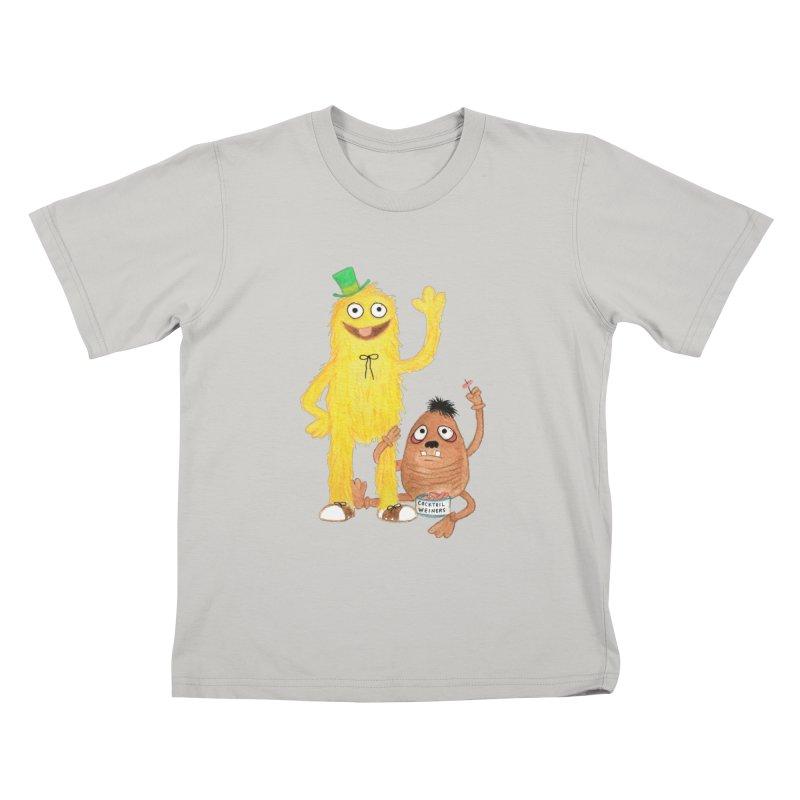 Chauncey and HIM Kids T-shirt by Jim Tozzi