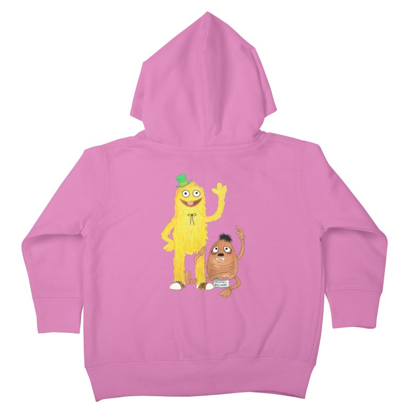 Chauncey and HIM Kids Toddler Zip-Up Hoody by Jim Tozzi