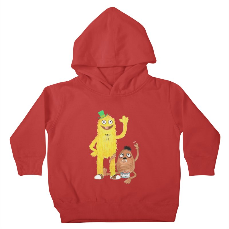Chauncey and HIM Kids Toddler Pullover Hoody by Jim Tozzi