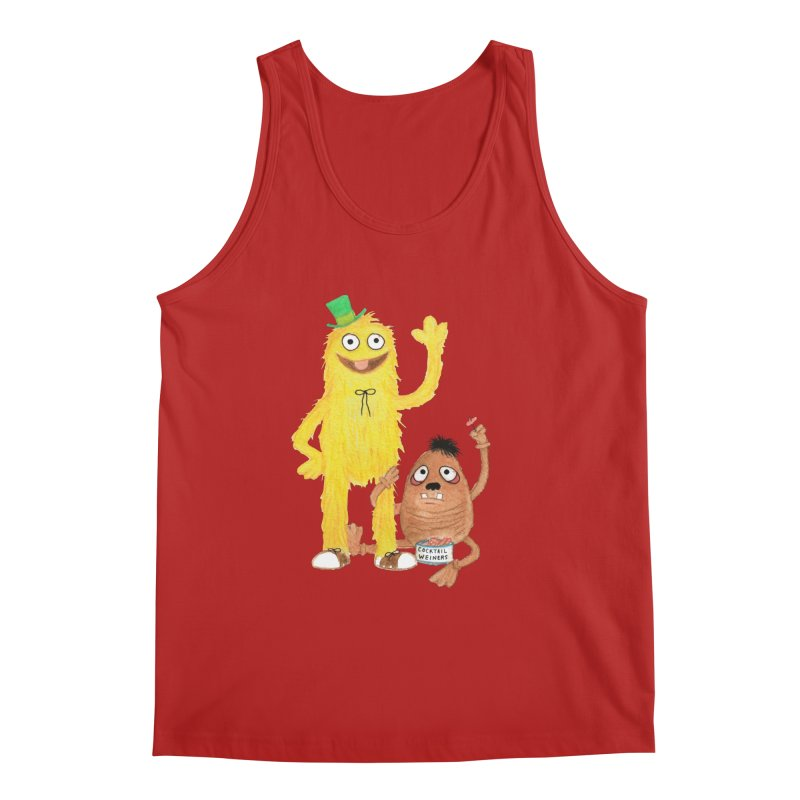 Chauncey and HIM Men's Tank by Jim Tozzi
