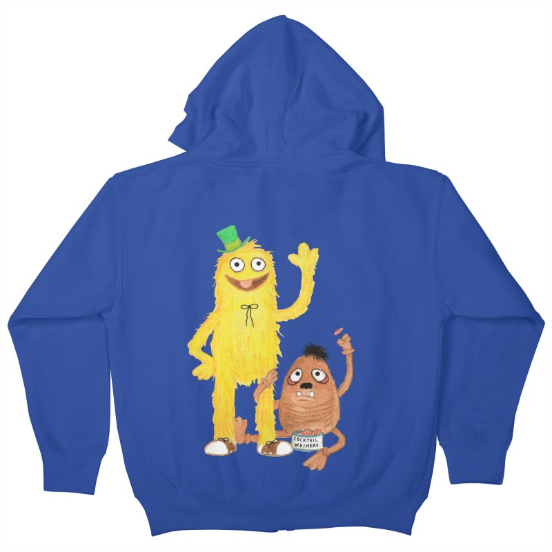 Chauncey and HIM Kids Zip-Up Hoody by Jim Tozzi