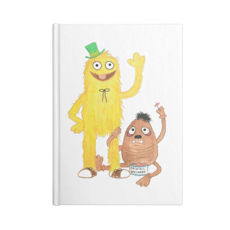 Chauncey and HIM Accessories Notebook by Jim Tozzi