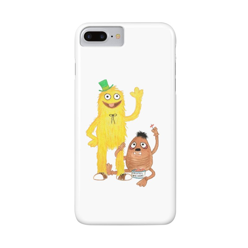 Chauncey and HIM Accessories Phone Case by Jim Tozzi