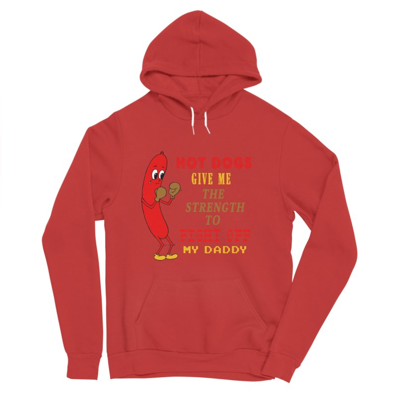 Hot dog Women's Pullover Hoody by Jim Tozzi