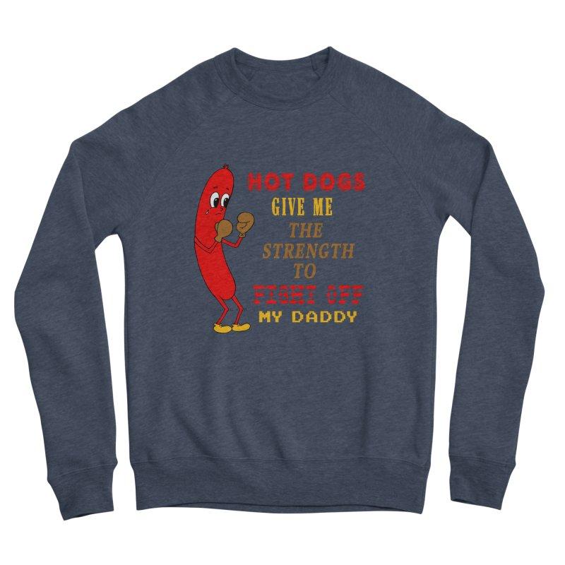 Hot dog Men's Sponge Fleece Sweatshirt by Jim Tozzi