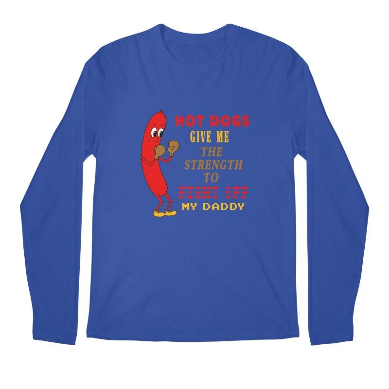 Hot dog Men's Regular Longsleeve T-Shirt by Jim Tozzi