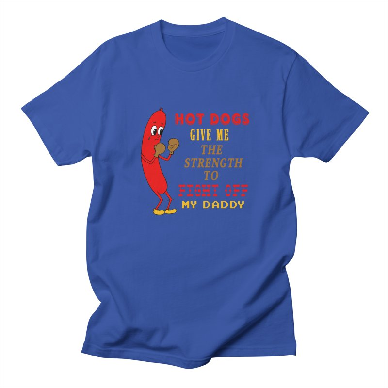 Hot dog Women's Regular Unisex T-Shirt by Jim Tozzi