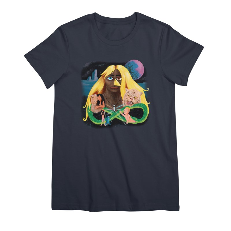 Xavier Renegade Angel deluxe Women's Premium T-Shirt by Jim Tozzi