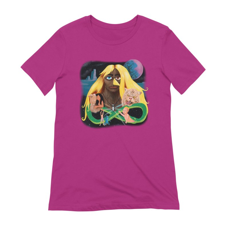 Xavier Renegade Angel deluxe Women's Extra Soft T-Shirt by Jim Tozzi