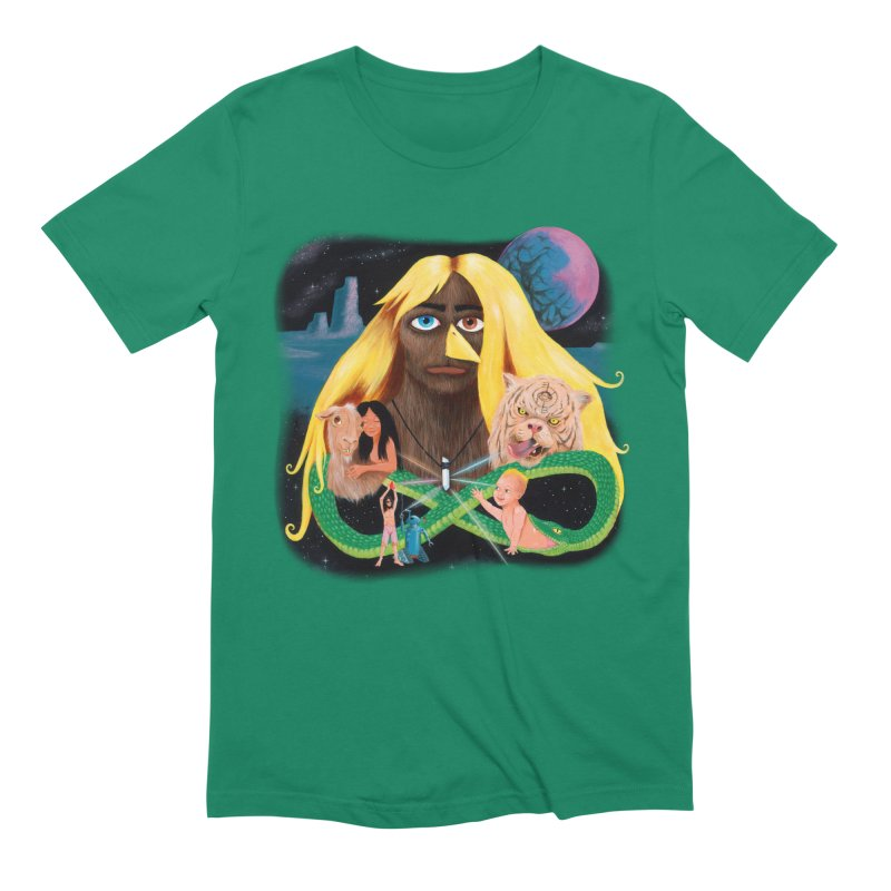 Xavier Renegade Angel deluxe Men's Extra Soft T-Shirt by Jim Tozzi
