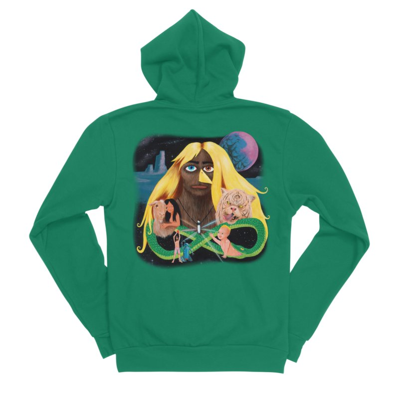 Xavier Renegade Angel deluxe Women's Sponge Fleece Zip-Up Hoody by Jim Tozzi
