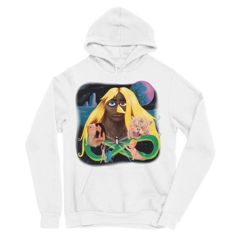 Xavier Renegade Angel deluxe Men's Sponge Fleece Pullover Hoody by Jim Tozzi