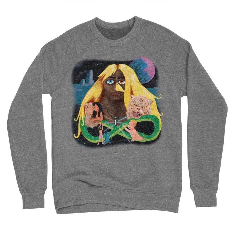 Xavier Renegade Angel deluxe Men's Sponge Fleece Sweatshirt by Jim Tozzi
