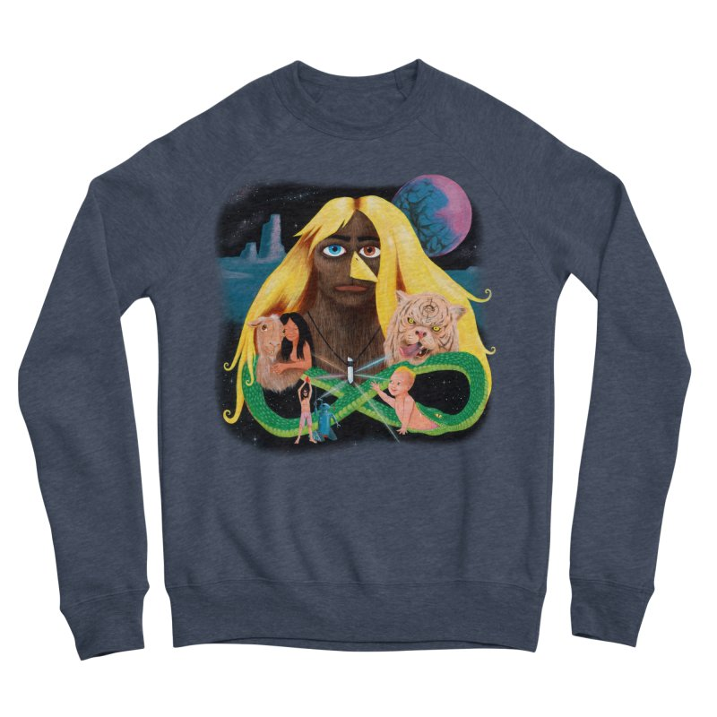 Xavier Renegade Angel deluxe Women's Sponge Fleece Sweatshirt by Jim Tozzi