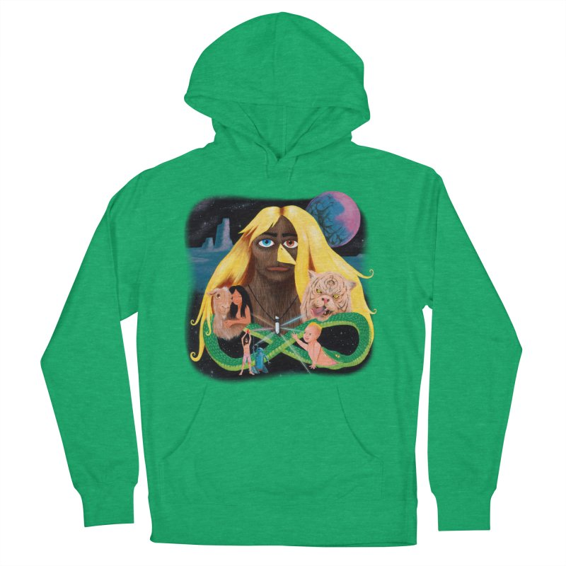 Xavier Renegade Angel deluxe Women's French Terry Pullover Hoody by Jim Tozzi