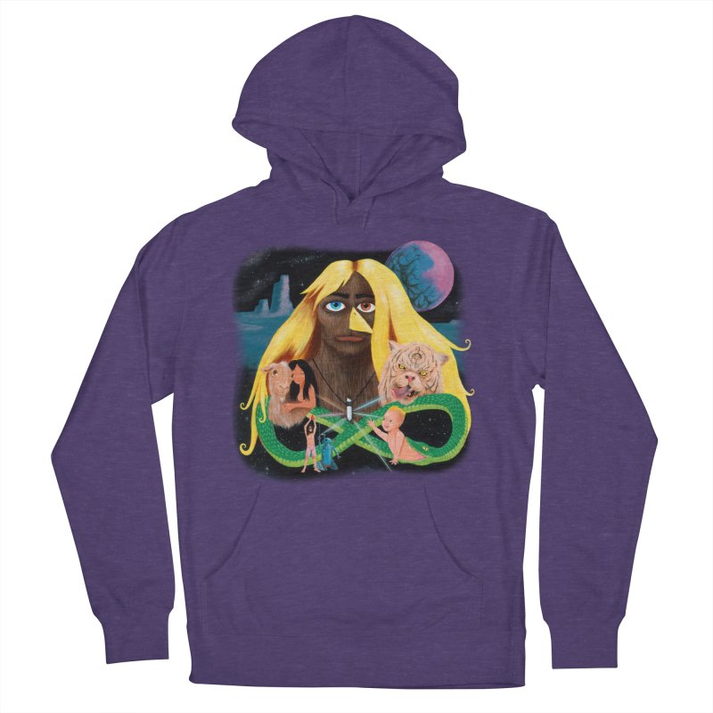 Xavier Renegade Angel deluxe Men's French Terry Pullover Hoody by Jim Tozzi