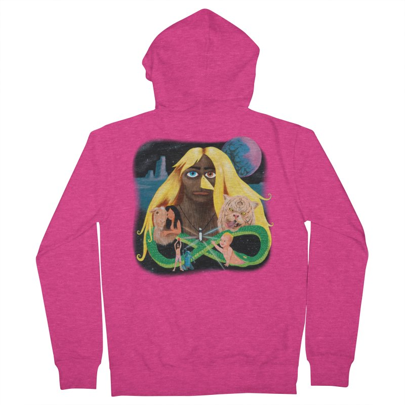 Xavier Renegade Angel deluxe Women's French Terry Zip-Up Hoody by Jim Tozzi