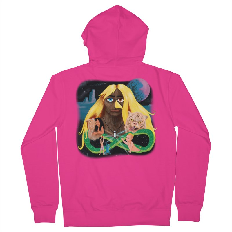 Xavier Renegade Angel deluxe Men's French Terry Zip-Up Hoody by Jim Tozzi
