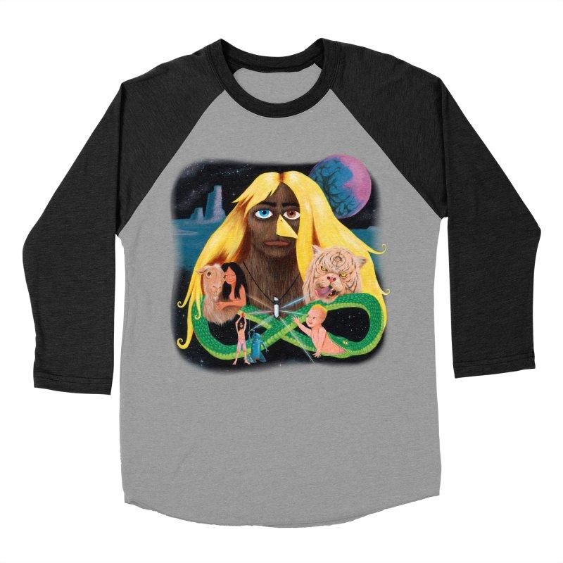 Xavier Renegade Angel deluxe Women's Baseball Triblend Longsleeve T-Shirt by Jim Tozzi