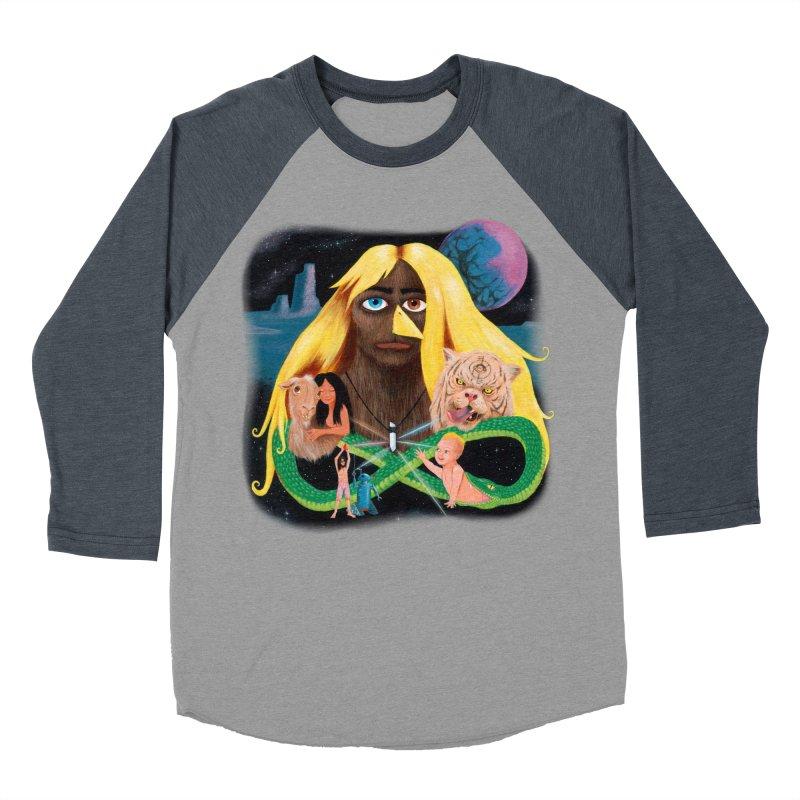 Xavier Renegade Angel deluxe Men's Baseball Triblend Longsleeve T-Shirt by Jim Tozzi