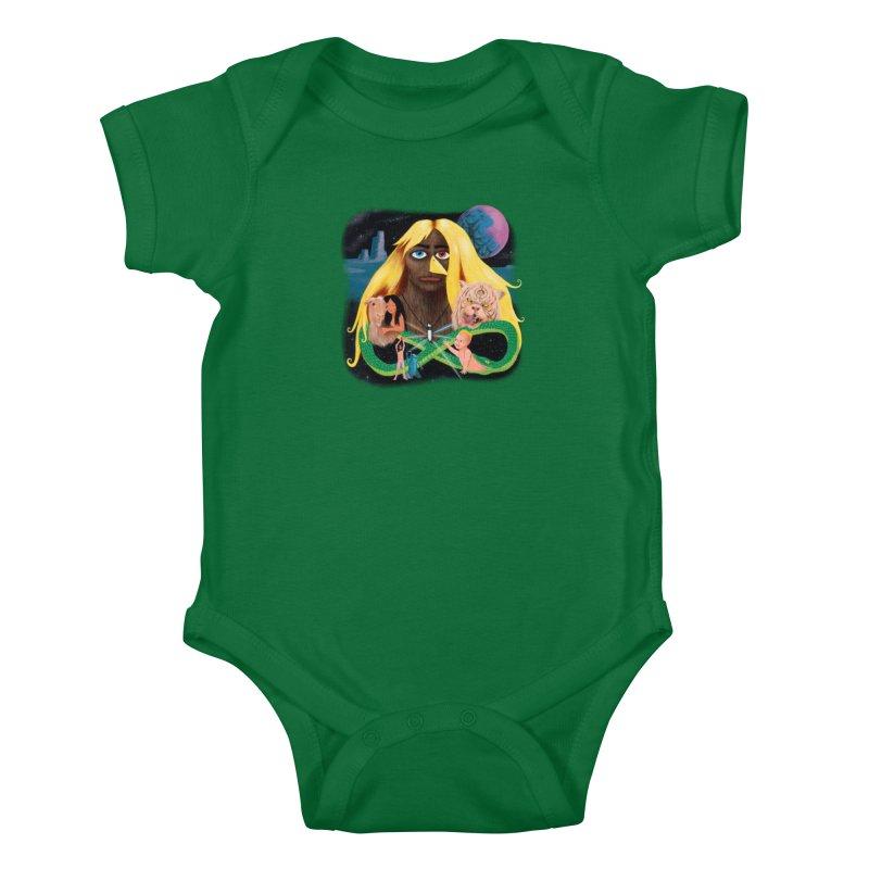 Xavier Renegade Angel deluxe Kids Baby Bodysuit by Jim Tozzi