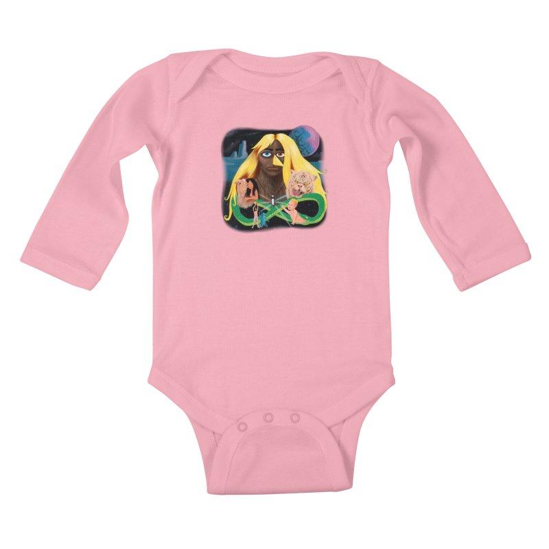 Xavier Renegade Angel deluxe Kids Baby Longsleeve Bodysuit by Jim Tozzi