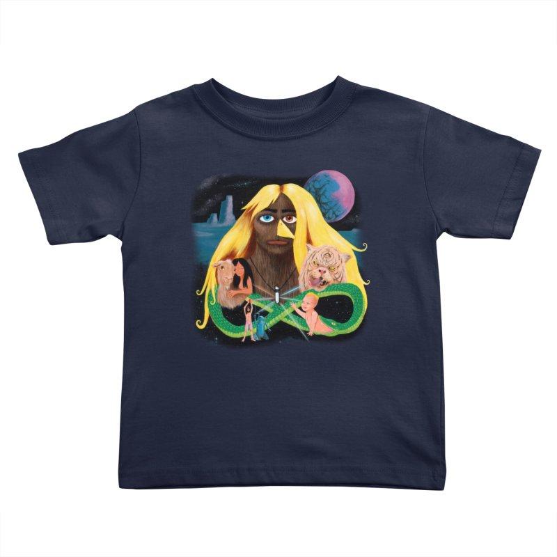 Xavier Renegade Angel deluxe Kids Toddler T-Shirt by Jim Tozzi