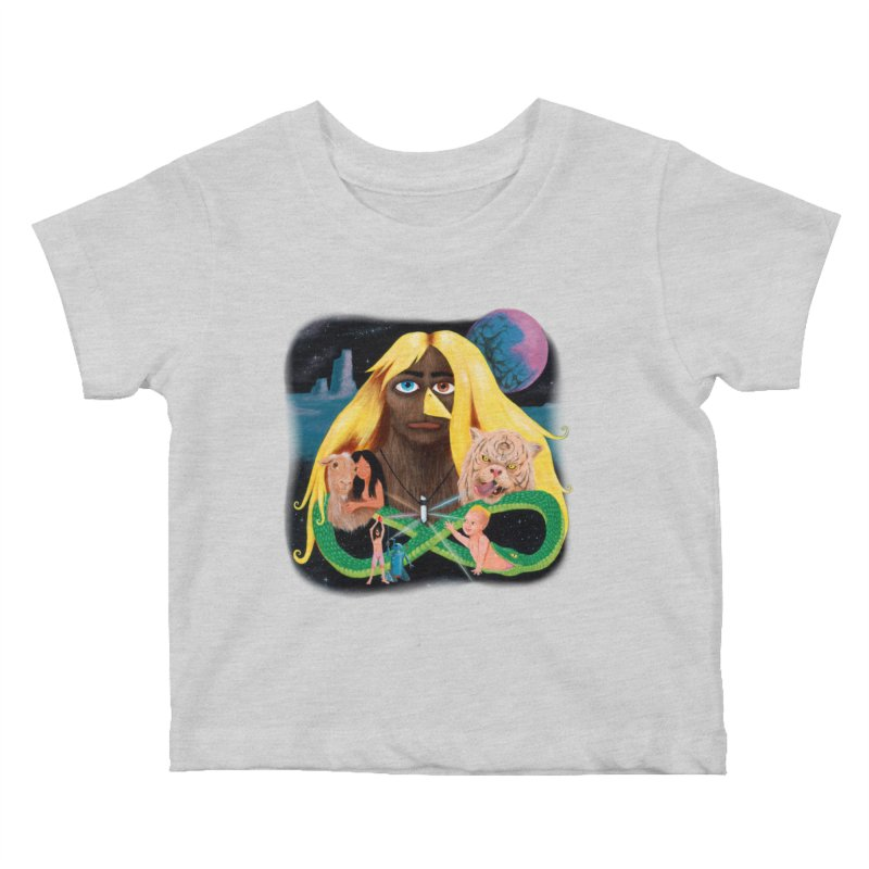 Xavier Renegade Angel deluxe Kids Baby T-Shirt by Jim Tozzi