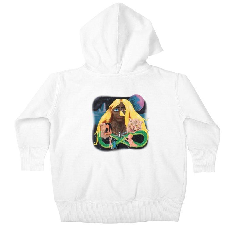 Xavier Renegade Angel deluxe Kids Baby Zip-Up Hoody by Jim Tozzi