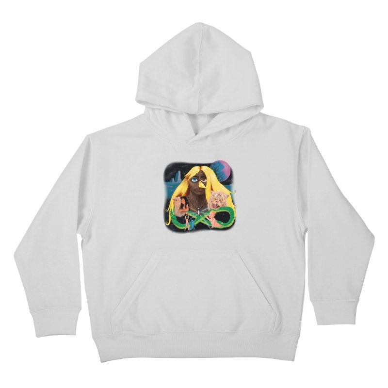 Xavier Renegade Angel deluxe Kids Pullover Hoody by Jim Tozzi