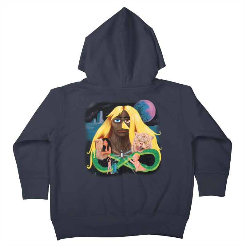 Xavier Renegade Angel deluxe Kids Toddler Zip-Up Hoody by Jim Tozzi