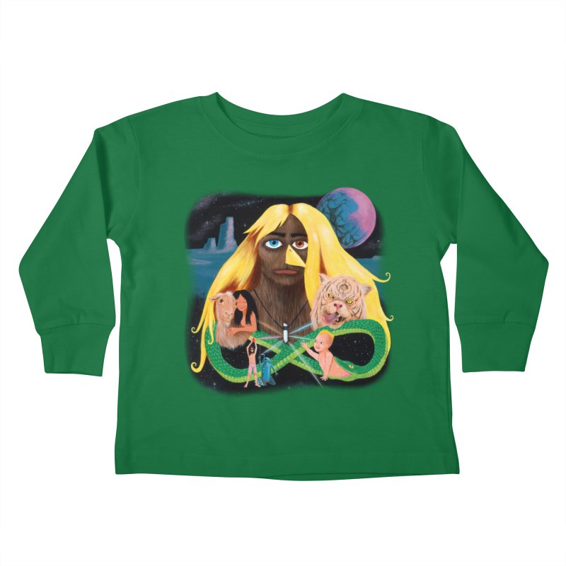 Xavier Renegade Angel deluxe Kids Toddler Longsleeve T-Shirt by Jim Tozzi