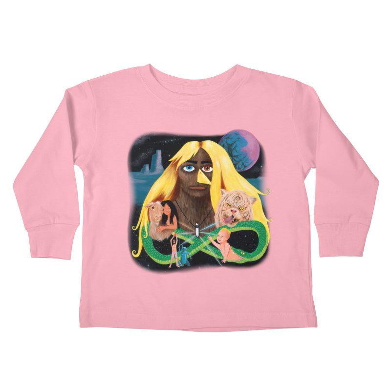 Xavier Renegade Angel deluxe Kids Toddler Longsleeve T-Shirt by Jim Tozzi