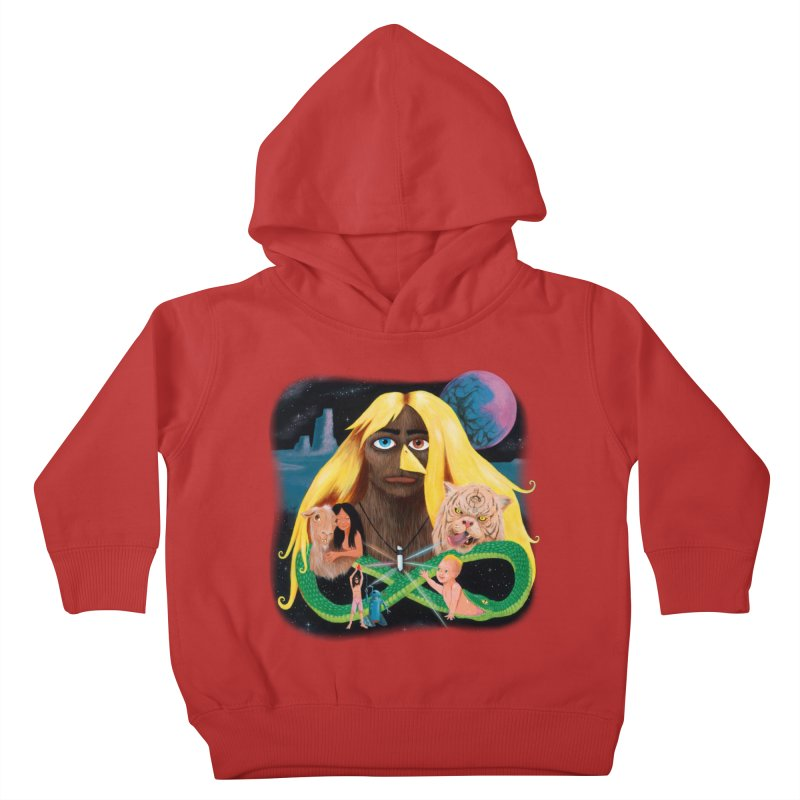 Xavier Renegade Angel deluxe Kids Toddler Pullover Hoody by Jim Tozzi