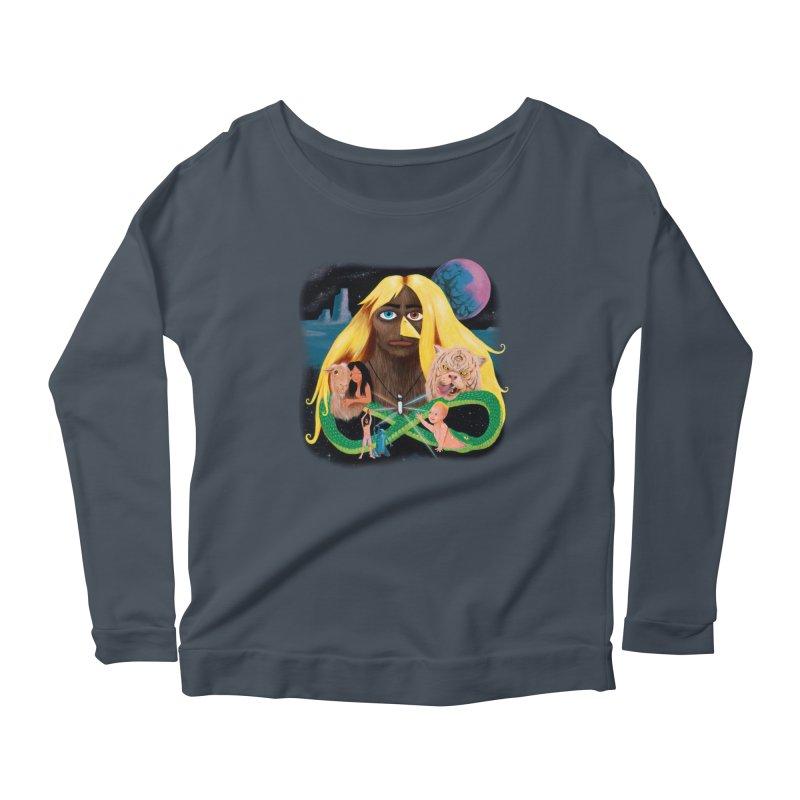 Xavier Renegade Angel deluxe Women's Scoop Neck Longsleeve T-Shirt by Jim Tozzi